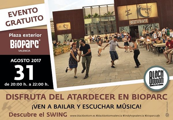 Black bottom evento gratuito 2017 BIOPARC Café