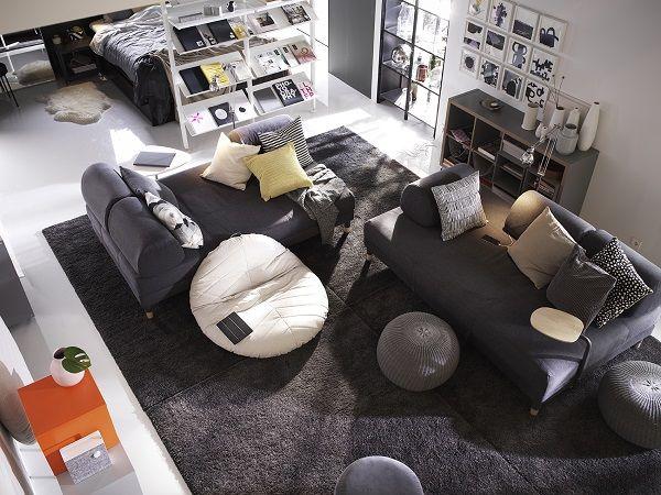 10 salones IKEA