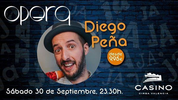 Diego Peña Casino Cirsa Valencia