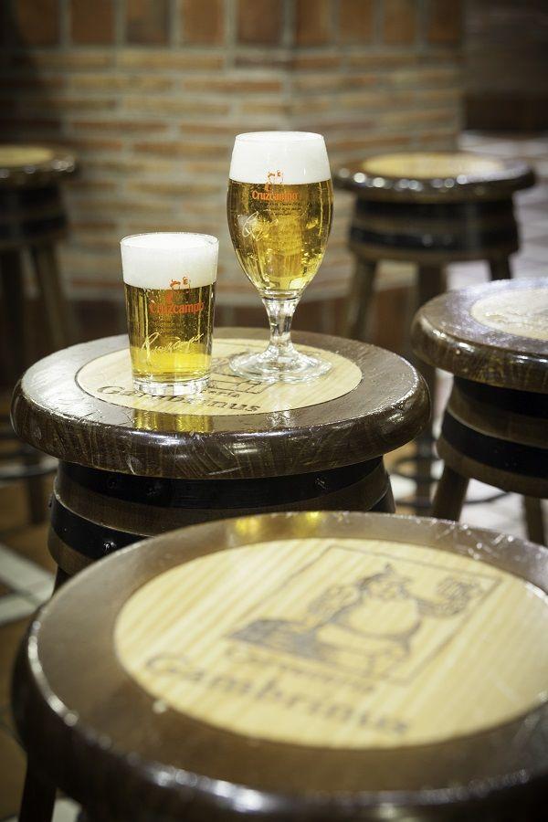 En Cervecería Gambrinus cañas a 60 céntimos valencia