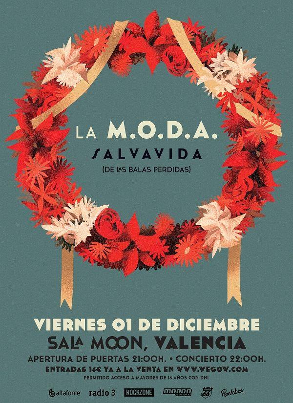 La M.O.D.A. en concierto en Valencia valencia