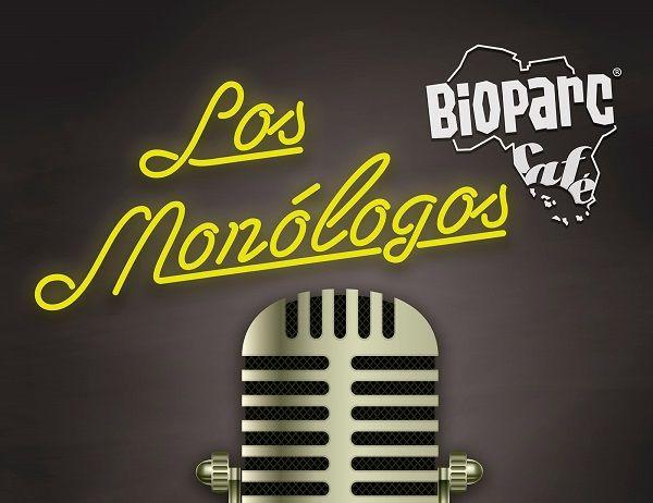 Cartel MONÓLOGOS noviembre y diciembre BIOPARC Café