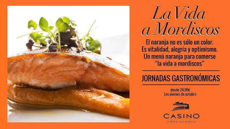 jornadas gastronomicas octubre Casino Cirsa Valencia