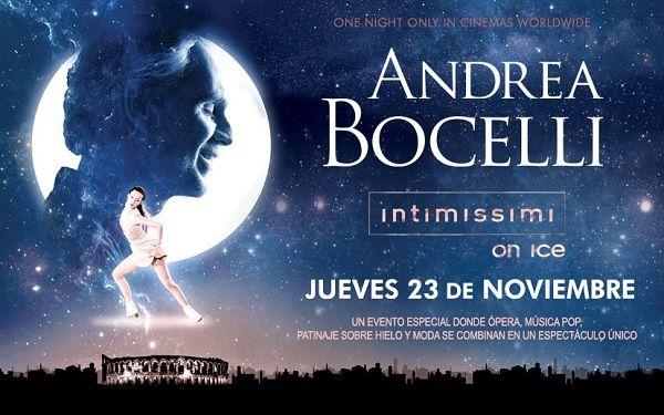 Andrea Bocelli y el mejor patinaje sobre hielo en cines en A Legend of Beauty valencia