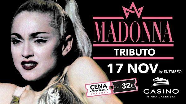 Tributo a Madonna, en Casino Cirsa Valencia valencia