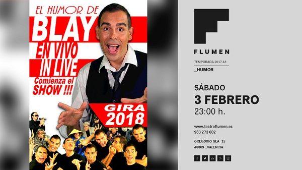 Mucho humor en el Teatro Flumen valencia