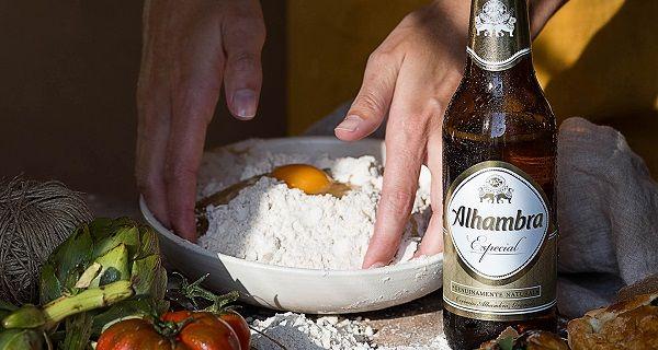 tapas con tiempo cervezas alhambra