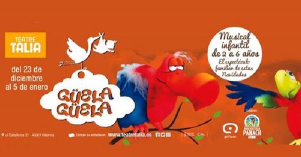 Espectáculo infantil, Navidad 2017, Teatro Talia