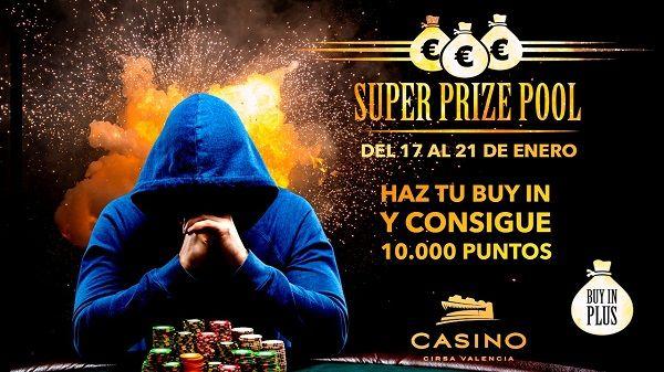 Casino Cirsa Valencia acoge el Superprizepool, primer gran torneo de poker de la temporada valencia