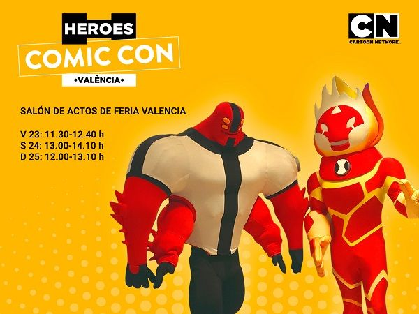 CartoonNetwork HeroesComicConValencia