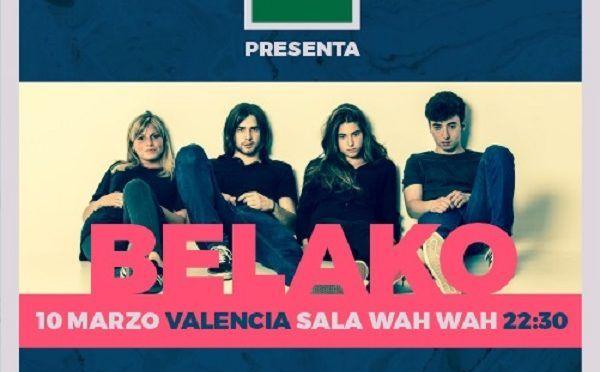 Belako en concierto en Valencia