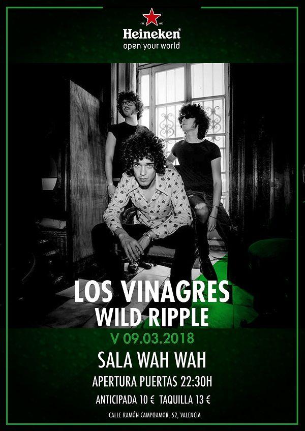 Los Vinagres en concierto en Valencia valencia