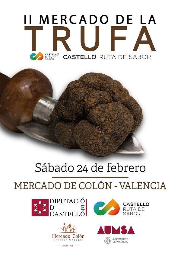 Mercado de la Trufa en el Mercado Colón valencia