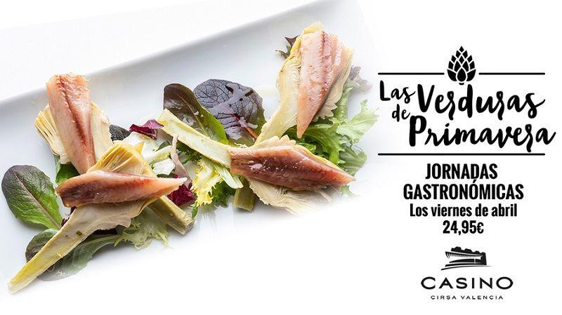 Jornadas Gastronómicas de abril en el Casino Cirsa Valencia valencia