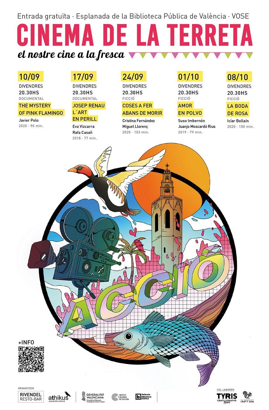 Cinema de la terreta, cine valenciano gratis a la fresca valencia