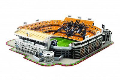 Puzzle Estadio Mestalla 3D