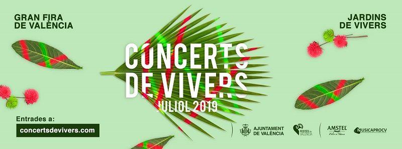 conciertos viveros feria julio