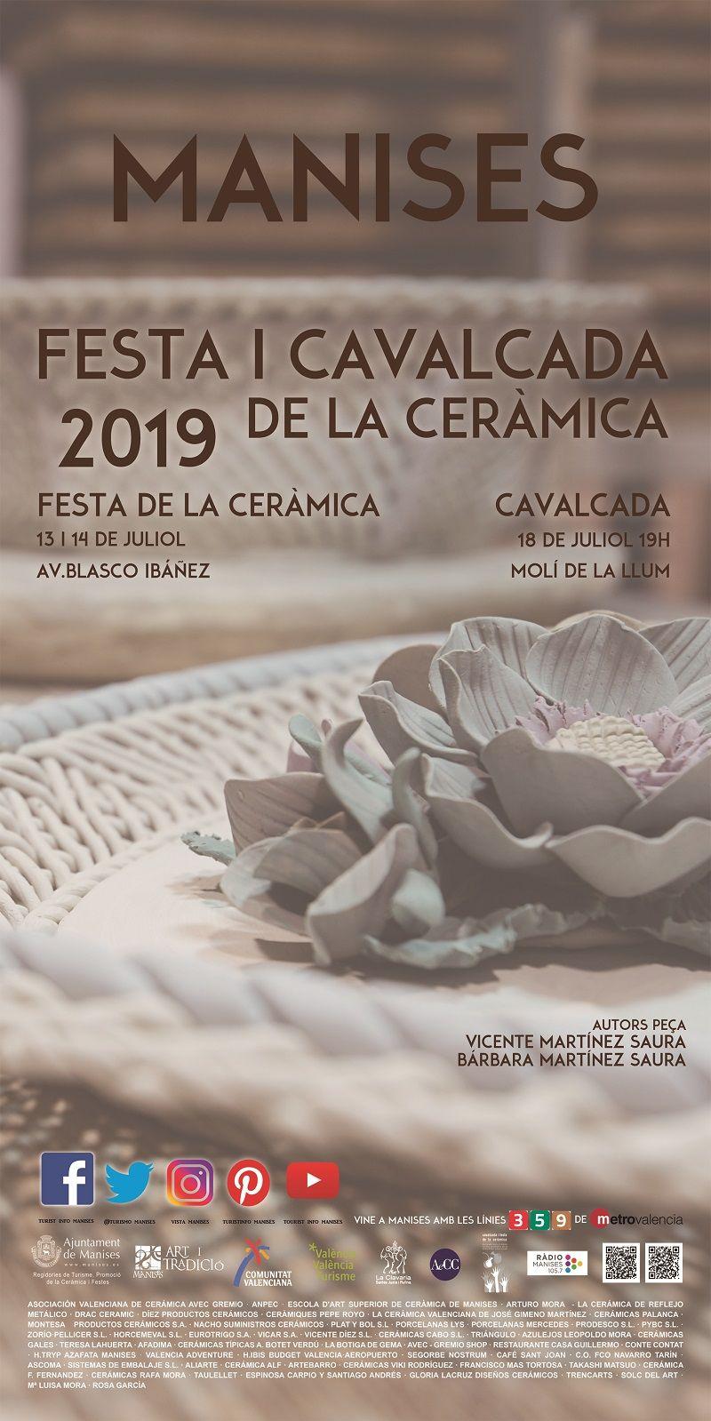 Fiesta y Cabalgata de la Cerámica de Manises valencia