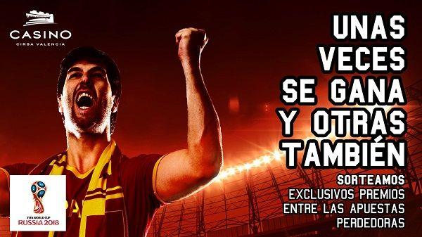 mundial futbol en Casino Cirsa Valencia