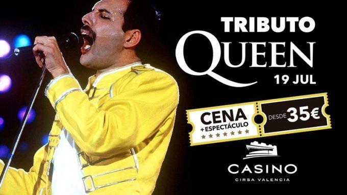 Casino Cirsa Valencia, Cena con Espectáculo, Concierto