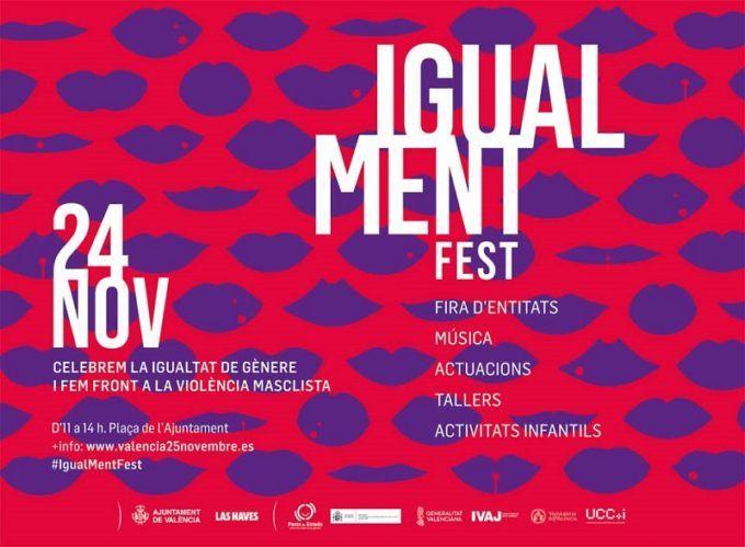 Día Internacional contra la violencia de género, Festival Cultural, Plaza del Ayuntamiento