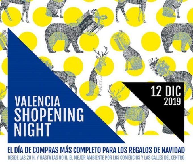 Valencia Shopening Night Invierno 2019