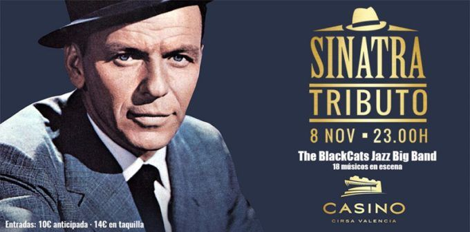 Tributo a Frank Sinatra, en Casino Cirsa Valencia