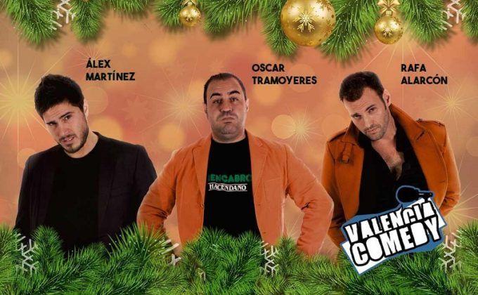 valencia comedy navidad