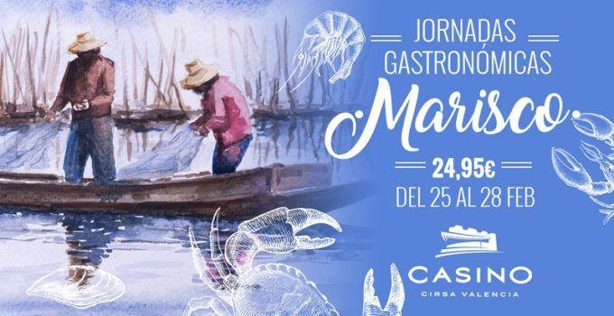Jornadas gastronómicas de febrero en Casino Cirsa Valencia