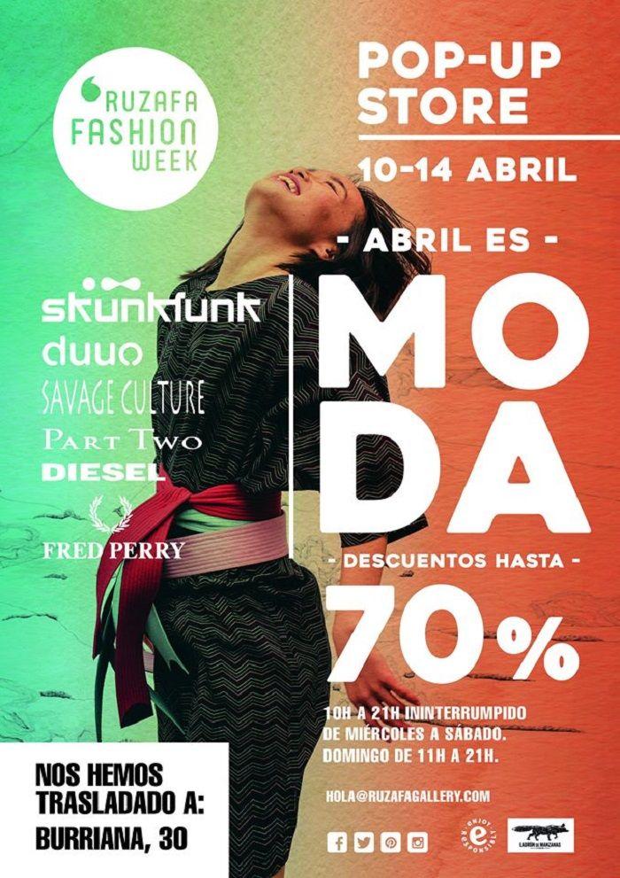 Ruzafa Fashion Week, regresa el certamen de moda pop-up de Valencia valencia