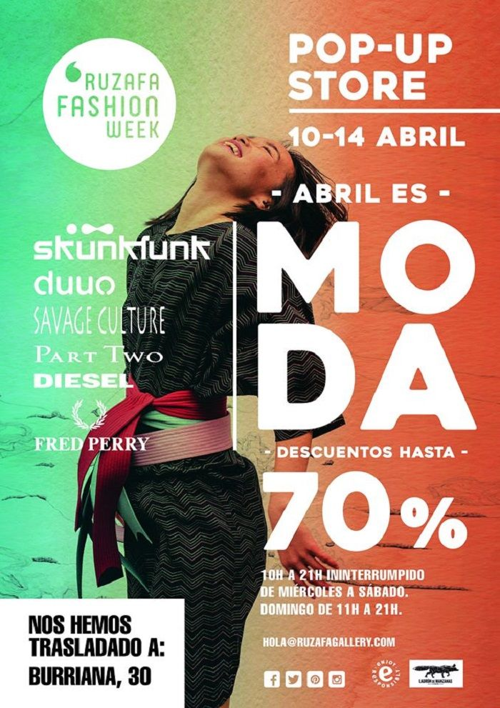 Moda, Outlet, Ruzafa, Ruzafa Fashion Week