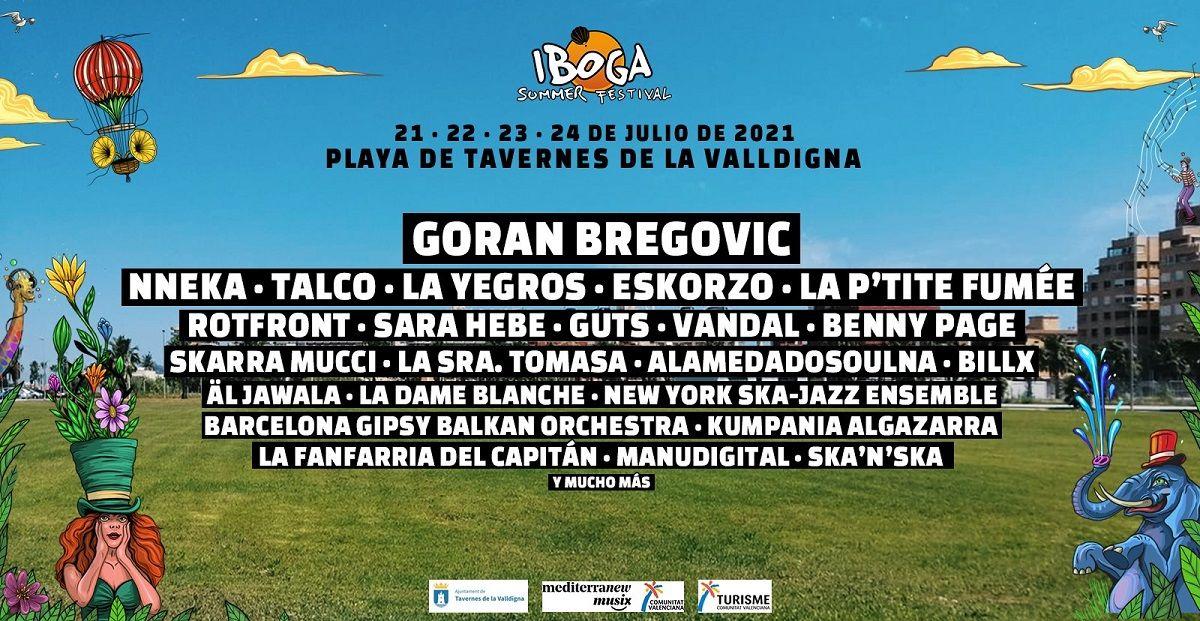 Iboga Summer Festival en la playa de Tavernes de la Valldigna 2021 valencia