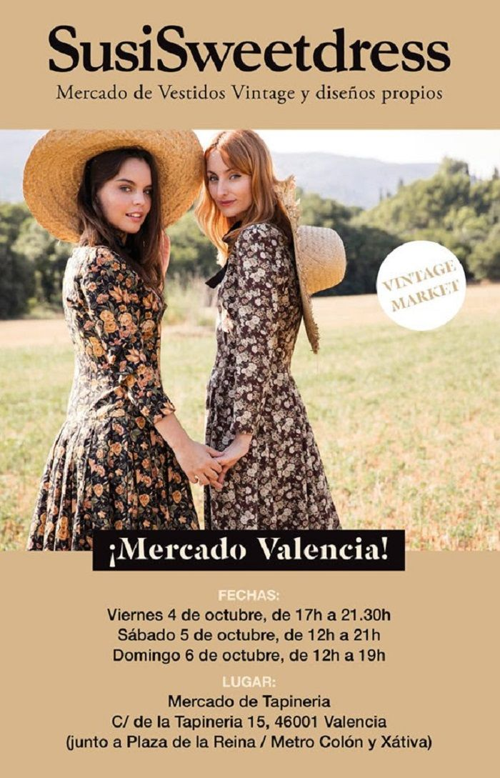 SusiSweetDress, vuelve el estilo vintage a Tapineria valencia