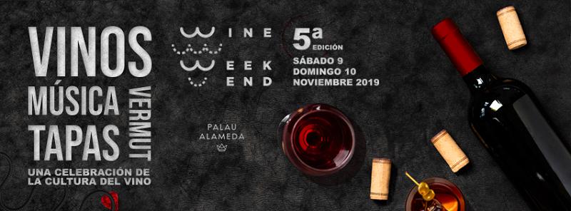 Disfruta del Wine Weekend en Palau Alameda valencia