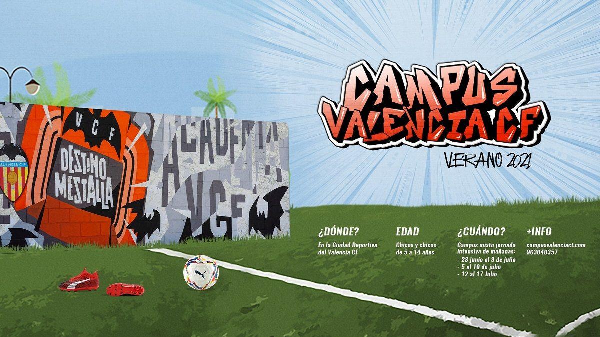 Campus de Verano del Valencia Club de Fútbol valencia