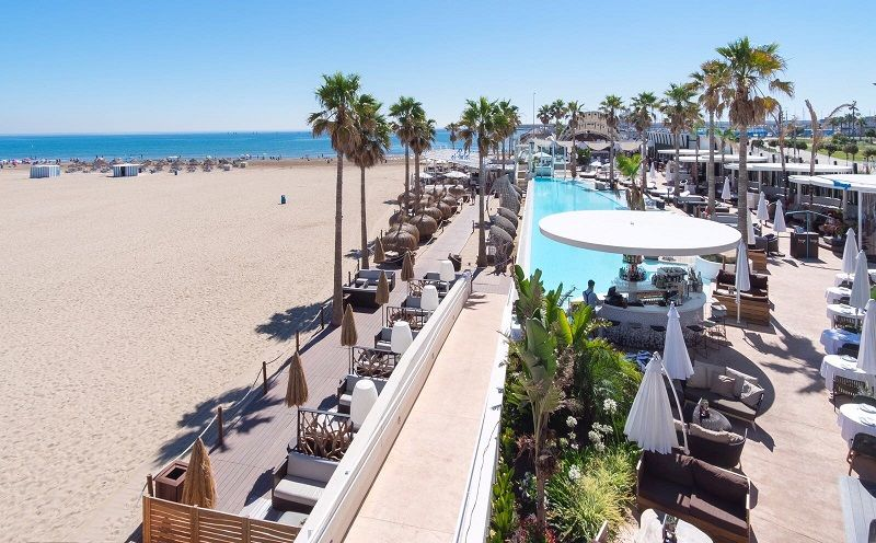Fiesta, Marina Beach Club