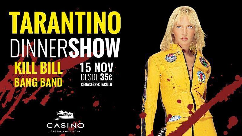 Casino Cirsa Valencia, Cena con Espectáculo
