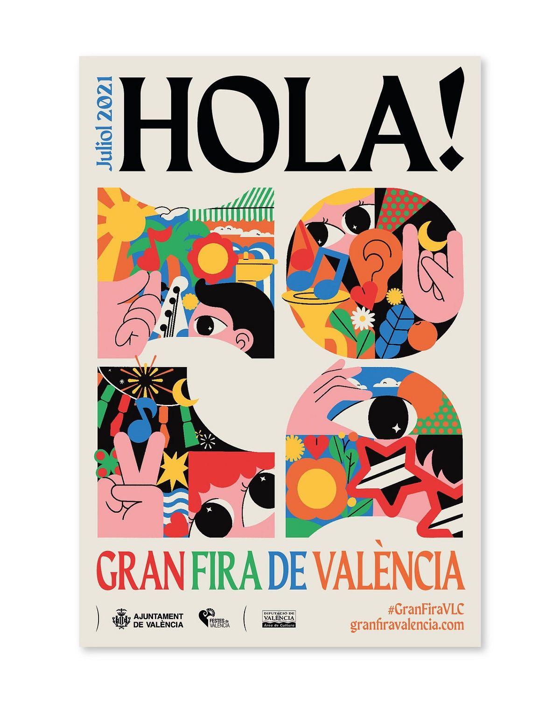 Programa Gran Feria de Julio de Valencia 2021 valencia