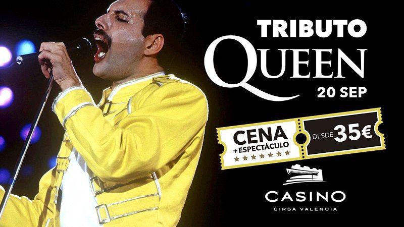 Cena espectáculo Queen Casino Cirsa  septiembre