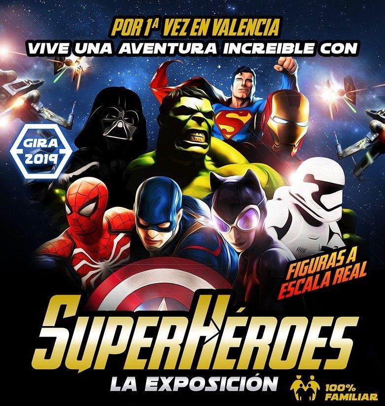 EXPOSICIÓN SUPERHEROES