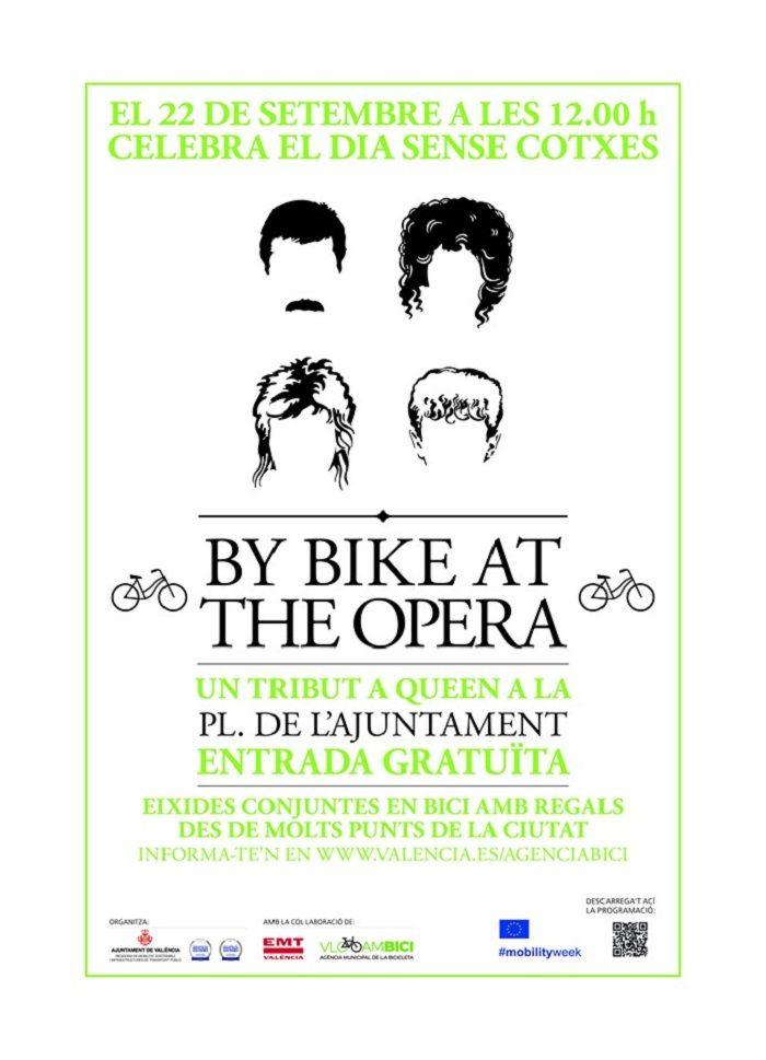 by bike at the opera