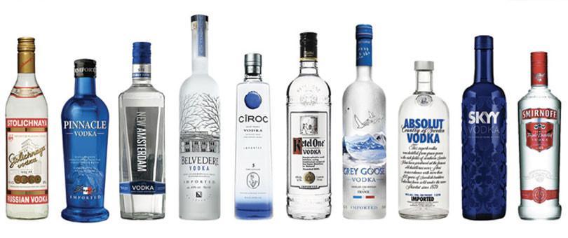 Mejores Marcas de Vodka