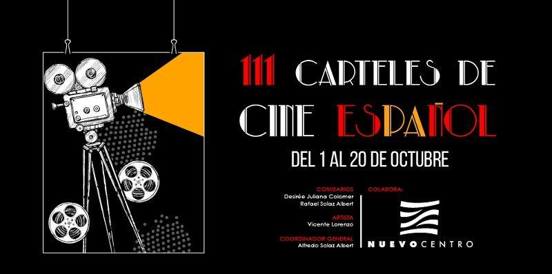 Exposición Carteles del Cine Español en Nuevo Centro valencia