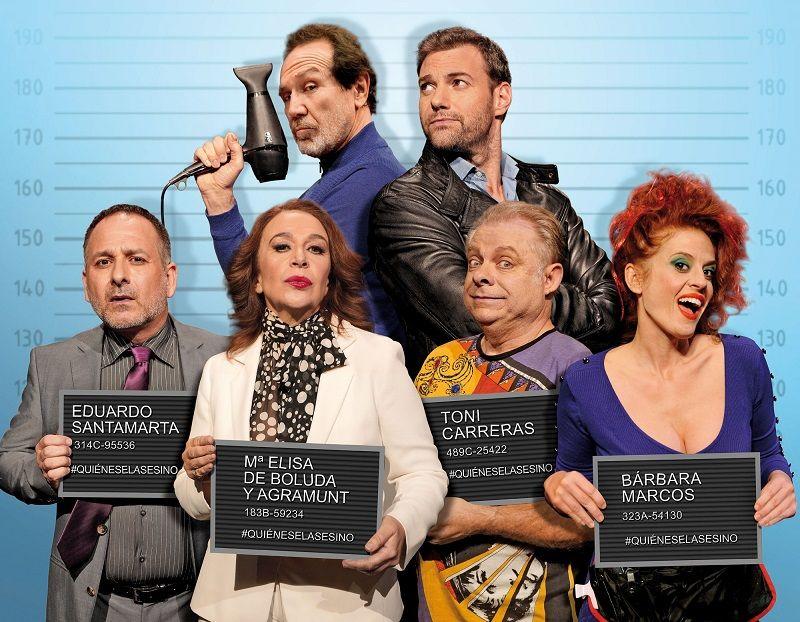 Por los pelos, vuelve con récord al Teatro Talia valencia