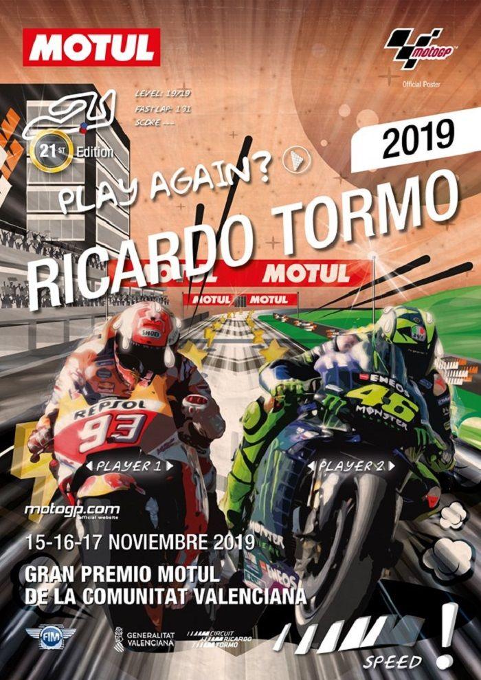 Campeonato del Mundo de Motociclismo, Gran Premio 2019 valencia