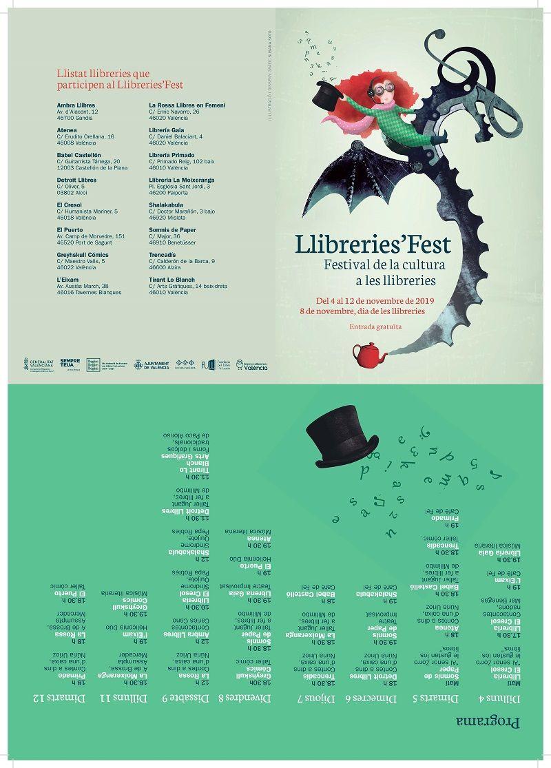 Llibreries'Fest, celebra el día de las Librerías valencia