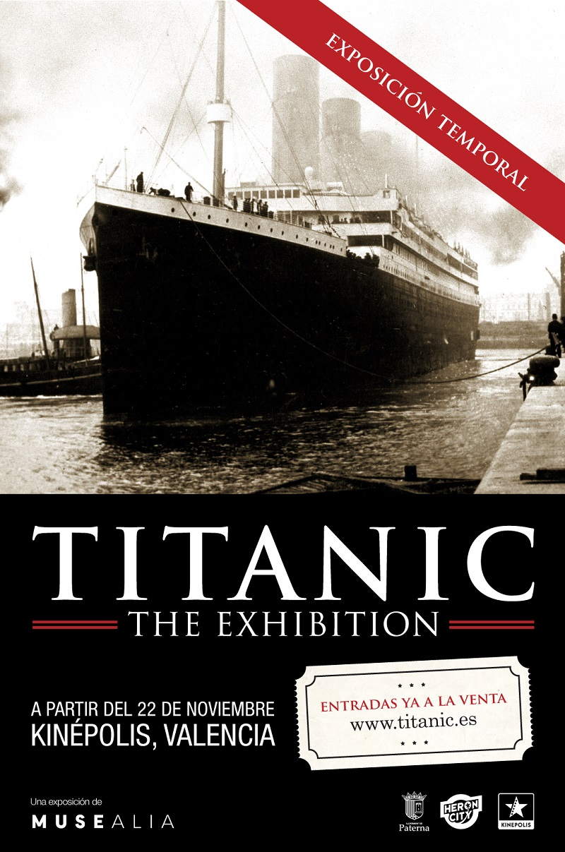 Titanic The Exhibition, llega a Valencia valencia