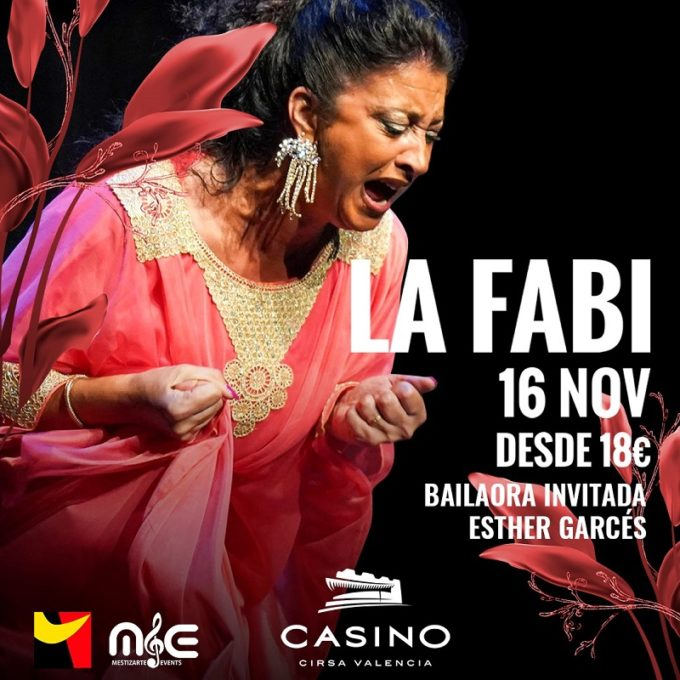 La Fabi noviembre Casino Cirsa Valencia