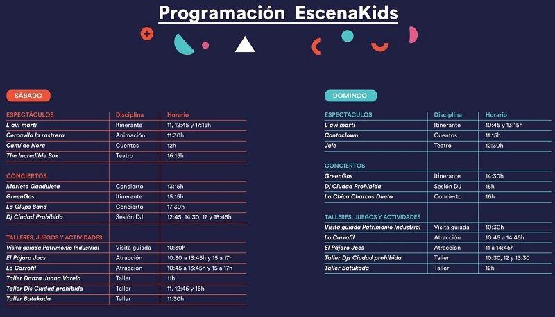 programa escenakids 2019