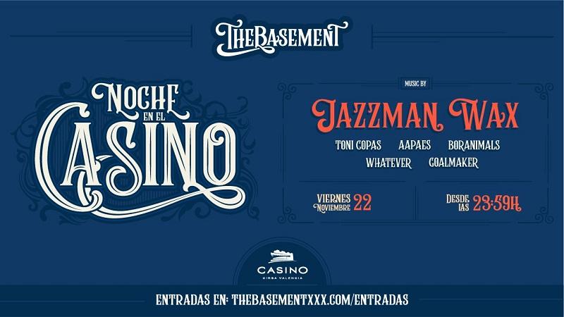 theBasement  nov Casino Cirsa Valencia